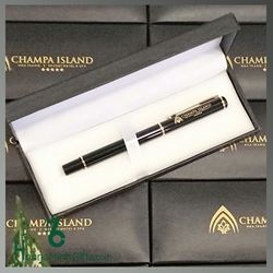 Bút Ký Kim Loại Cao Cấp Khắc Logo - KH Champa Island