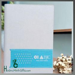 Sổ Da A5 In Logo  - Kh O-I BJC