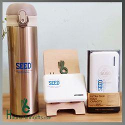 Sạc Dự Phòng Remax - Bình Giữ Nhiệt In Logo - Kh Seed