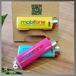 Bật Lửa BIC J3 In Quảng Cáo - Kh Mobifone