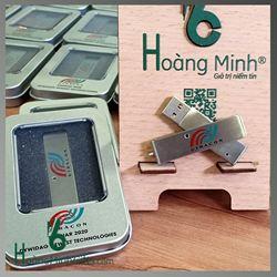 USB Kim Loại Xoay In Logo - Kh Utracon
