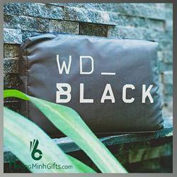 Áo Mưa Quảng Cáo Siêu Nhẹ In Logo - Kh Wd - Black