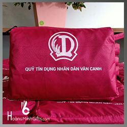 Áo Mưa Quảng Cáo Siêu Nhẹ In Logo - Kh QTDND Vân Canh