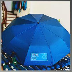 Ô Gấp 3 Tự Động 2 Chiều Cao Cấp - Kh IBM