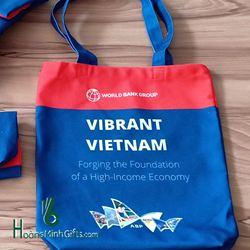 Túi Vải Bố Xách Tay Thời Trang - Kh World Bank Group