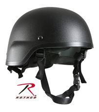 Rothco ABS Mich-2000 Replica Tactical Helmet (Black)