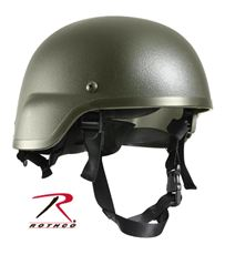 Rothco ABS Mich-2000 Replica Tactical Helmet (Olive Drab)