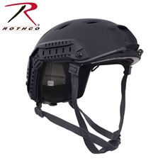Rothco Advanced Tactical Adjustable Airsoft Helmet (Black)
