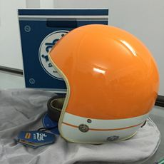Scoot 3/4 Classic Helmet - Burano (Orange)