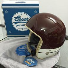 Scoot 3/4 Classic Helmet - Burano (Maroon)