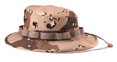 Rothco Camo Poly/Cotton Boonie Hat (6-Color Desert Camo)