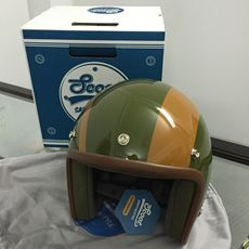 Scoot 3/4 Classic Helmet - Autobahn (Rifle Green)