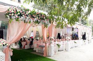 Nhà bạt cưới hỏi tông màu pastel
