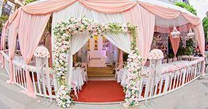Nhà bạt cưới hỏi màu pastel