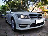 Mercedes C300 AMG 2012 trắng xuất xắc