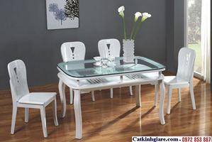Kính mặt bàn phòng khách đẹp MB01