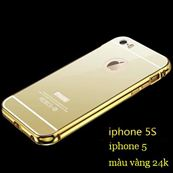 Ốp lưng mạ vàng 24k hiệu ZOYI  - iphone 5 / 5s / 6