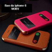 Bao da IPHONE 6 thương hiệu MOBY