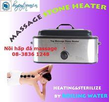 Nồi hấp đá massage hình chữ nhật