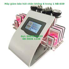 Máy Giảm Béo, Hút chân không toàn thân 6 trong 1-NB-039 – Cavitation Lipo RF Slimming Laser