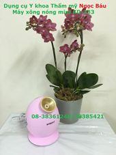 Máy xông mặt nóng mini KD-233 hồng