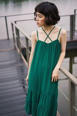 X-Camisole Layer Dress