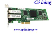 HP - Dual Port Fibre Channel Host Bus Adapter QLE2462 PCI-E - P/N: AE312-60001 / 407621-001 / AE312-60001