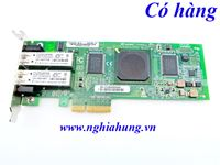 Dell - Dual Port Fibre Channel Host Bus Adapter QLE2462 PCI-e - P/N: PX2510401