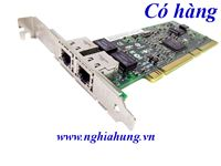 Card mạng HP - NC7170 Dual Port PCI-X 1000T Gigabit Server Adapter - P/N: 313586-001 / 313559-001