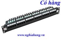 AMP Patch Panel 24 port Cat5e