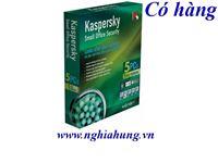 Kaspersky ( 1 Server + 5 PC ) ( có đĩa + vỏ hộp) giá 2400K