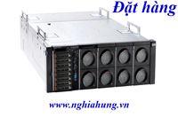 Máy Chủ Lenovo System X3850 X6 - CPU 4x E7-4870 v2 / Ram 64GB / Raid M5210 / HDD 4x 300GB / 2x PS / Rail Kit