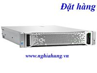 Máy Chủ HPE Proliant DL380 G9 (719064-B21) - CPU E5-2630 v3 / Ram 8GB / Raid P440ar / 1x PS / Rail Kit