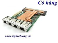 Card mạng Dell X540 I350 Quad Port 2x 10GbE 2x 1GbE (099GTM) Network Card