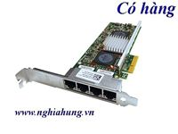 Card mạng DELL Broadcom 5709 4-port PCI-E 10/100/1000 QUAD Gigabit Ethernet (0R519P)