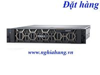 Máy Chủ Dell PowerEdge R740xd - CPU Gold 6140 / Ram 16GB / Raid H730p / 2x PS/ Rail kit