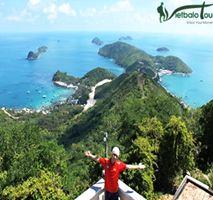 Tour đảo Nam Du 2 ngày 2 đêm - Bao vé Tàu Cánh Ngầm