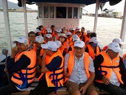 Vietbalo Tour Đại chiến đảo Bình Ba cùng Hội Khuyến học Tây Ninh