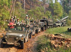 Hành Quân Vượt Trường Sơn (Đà Lạt)