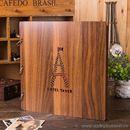 Album ảnh DIY bìa gỗ Eiffel Tower K1422 1250g