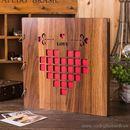 Album ảnh DIY bìa gỗ Love K1421 1250g