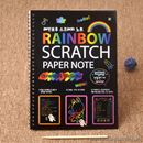 Sổ Scratch Note Rainbow S0763 180g