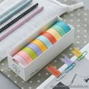 Bộ băng dính trang trí Rainbow 5 màu K1538 95g