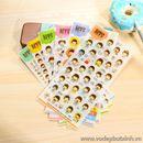 Bộ Sticker trang trí K1677 30g