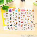 Bộ Sticker trang trí Moo K1684 30g