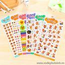 Bộ Sticker trang trí thỏ cà rốt K1683 30g