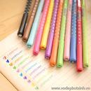 Bút bi nước màu sắc chấm bi B0389 10g