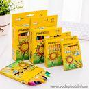 Bộ bút sáp màu hoa mặt trời 8 màu B0554 40g