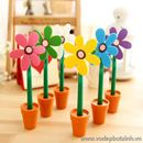 Bút bi trang trí để bàn hình hoa B0475 10g