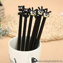 Bút bi nước vịt mèo đen B0493 15g